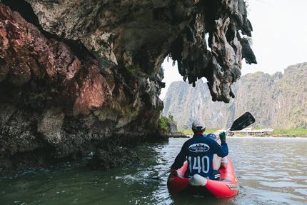 Thailand - Kanu im Nationalpark Ao Phang Nga
