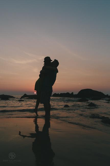 Sonnenuntergang Merlin Beach