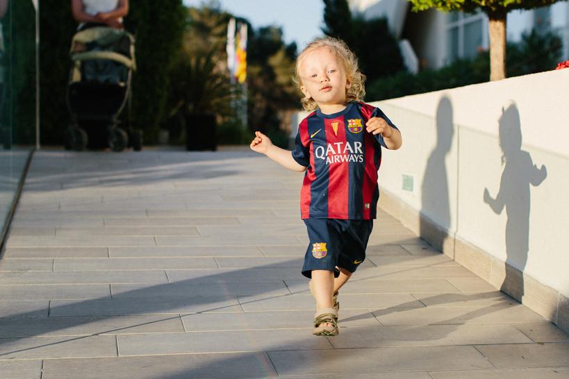 Kleiner Barcelona Fan