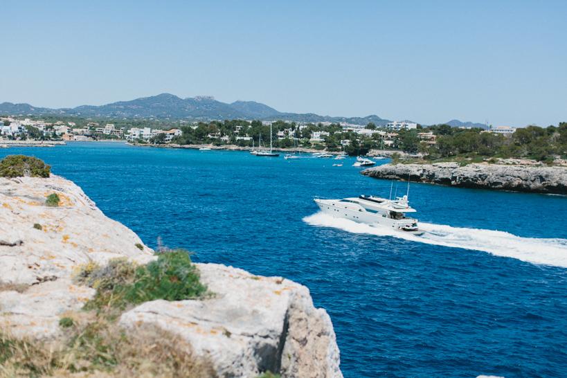 Speedboot auf Mallorca