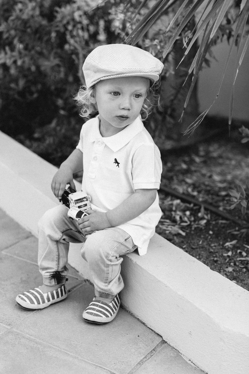 Retro Porträt eines Kindes