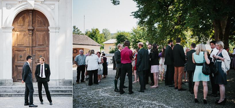 Kirchliche Trauung in Mattsee