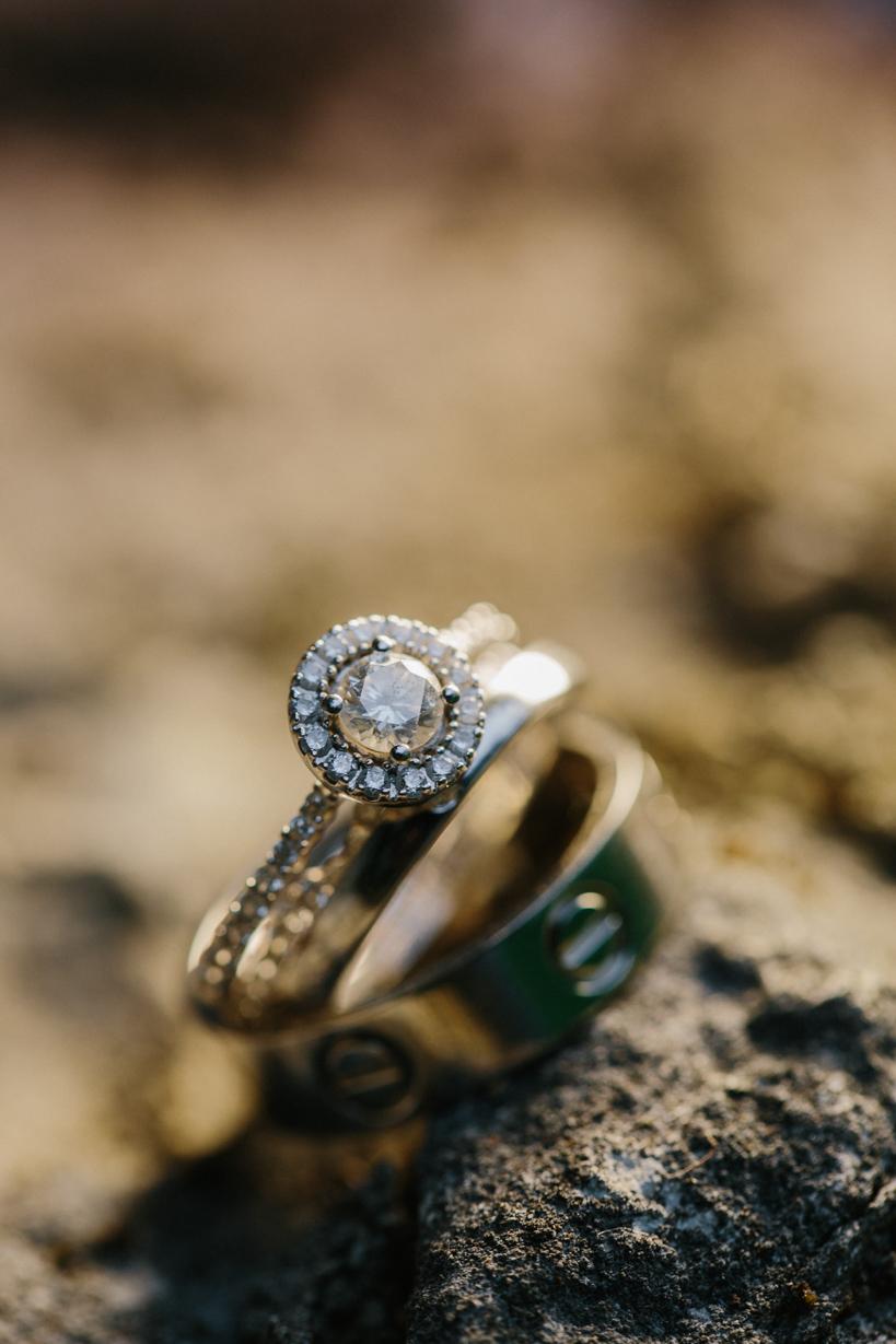 Luxuriöse Eheringe - Hochzeitsfotograf