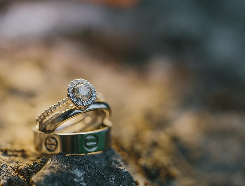 Luxus Hochzeitsring