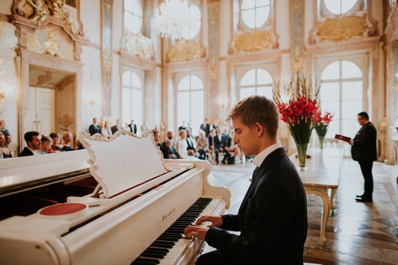 Hochzeit Lisa und Florian - Marmorsaal Mirabell