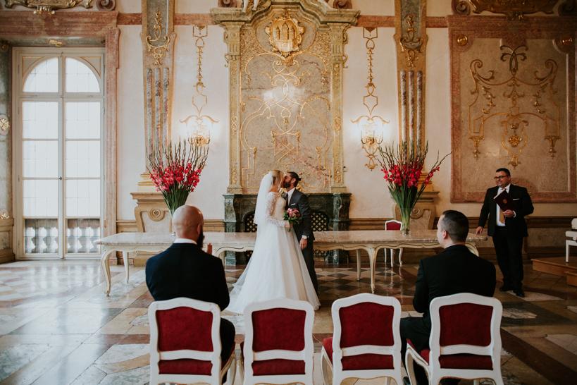 Hochzeit Lisa und Florian - Mirabell