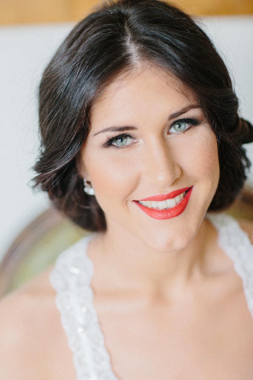 Braut Hochzeit Make-Up