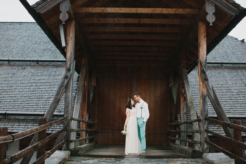 Hochzeit am Winterstellgut