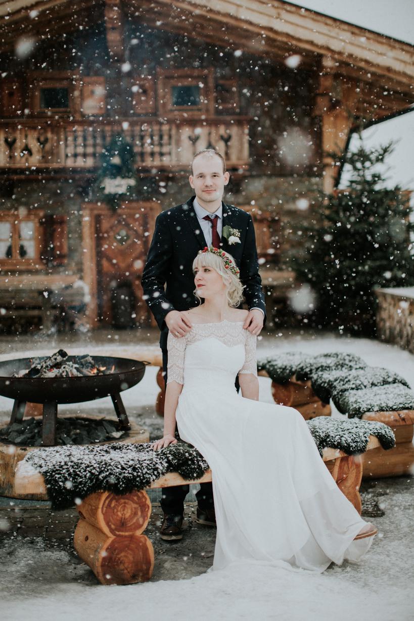 Hochzeit - Monika & David - Jufenalm