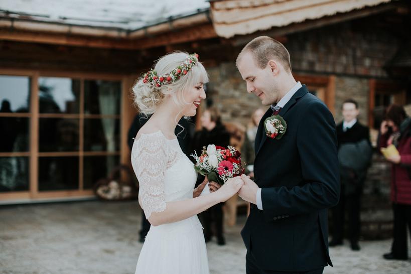 Hochzeit - Monika+David - Jufenalm