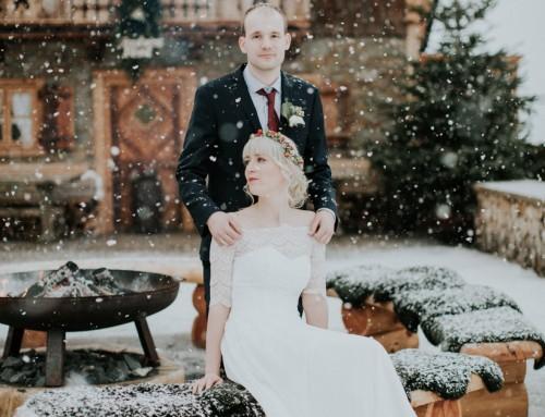 Winterhochzeit – Monika & David – Jufenalm