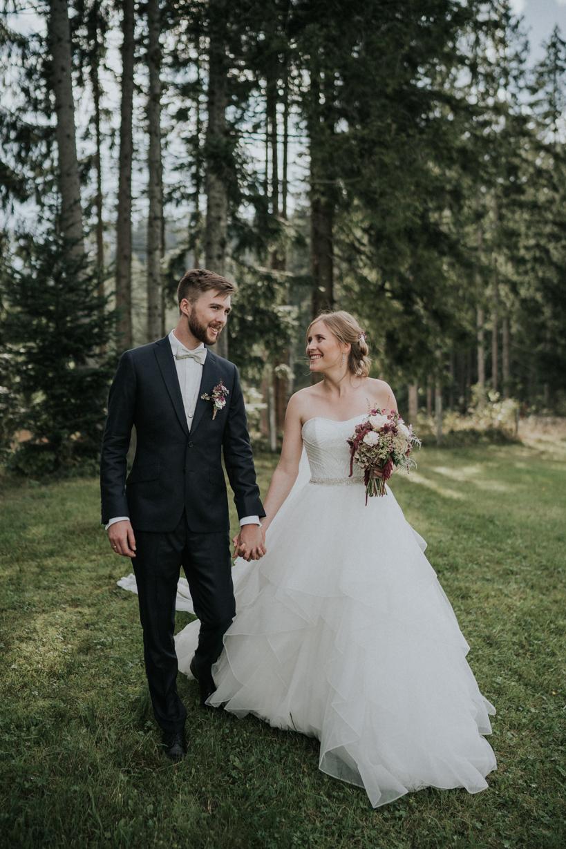 Hochzeit - Hannah und Gabriel - Jufenalm