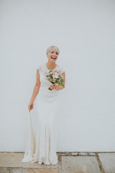 Hochzeit Winterstellgut - Hochzeitskleid Feinstens