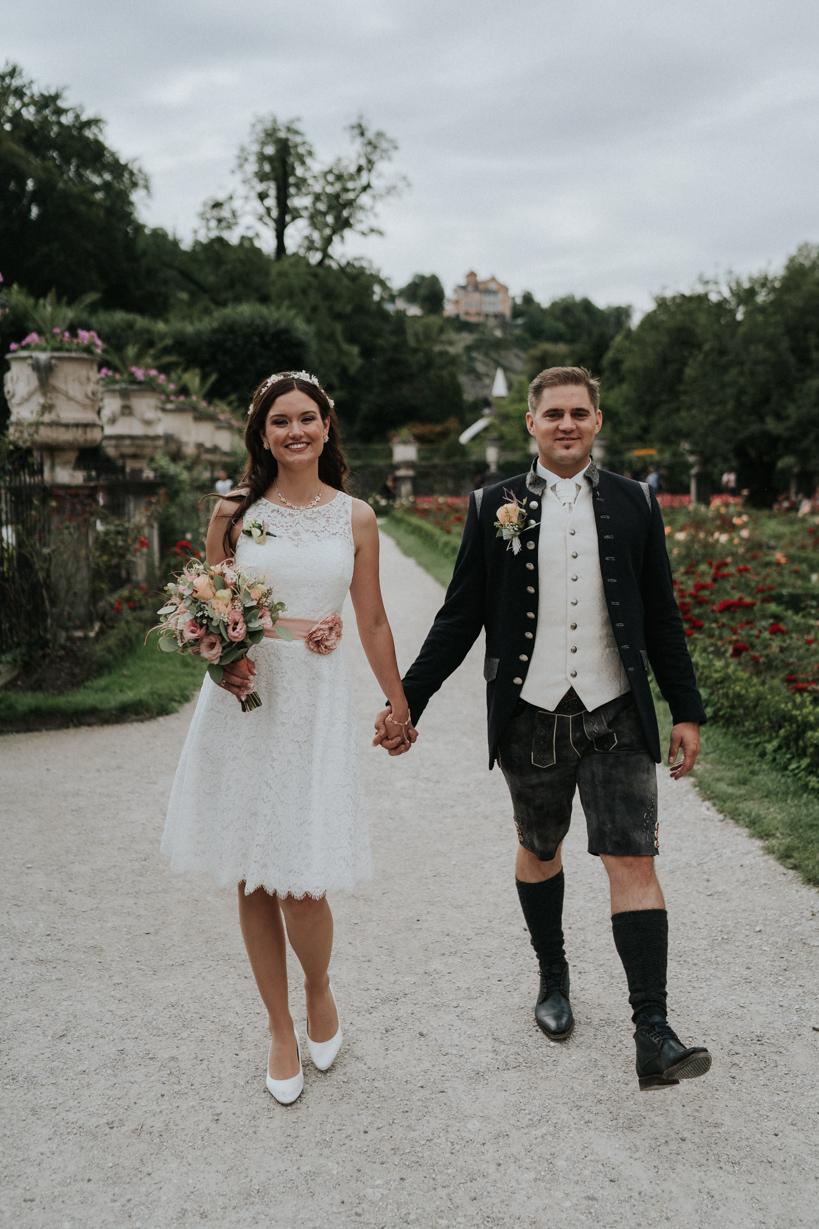 Trauung Schloss Mirabell - Claudia und Karl