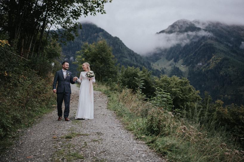 Hochzeit Oberforsthofalm - Lisa und Zafer