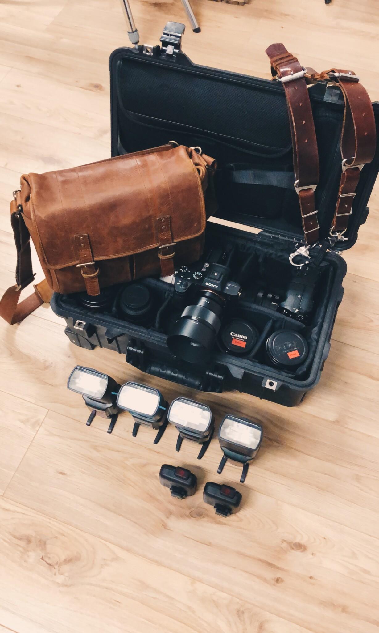 Wedding Photographer Equipment 2020